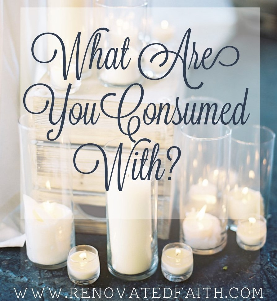 consumed by God candles
