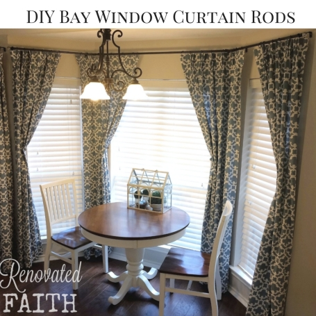 Diy Custom Curtain Rods Renovated Faith